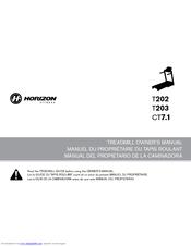 Horizon Fitness T203 Owner's Manual