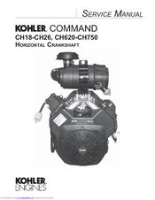 kohler command pro ch20 manuals rh manualslib com kohler ch20 engine manual kohler ch20 shop manual
