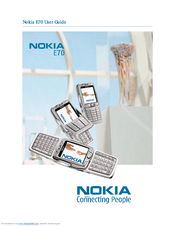 Nokia E70 User Manual