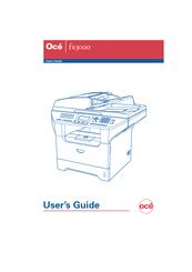 oce fx3000 user manual pdf download rh manualslib com Oce VarioPrint 6200 Printers and Copiers Oce Copy Machines