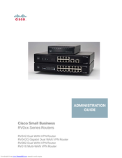 Cisco RV042 - Small Business Dual WAN VPN Router Manuals