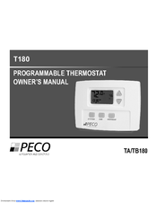 PECO T180 OWNER'S MANUAL Pdf Download