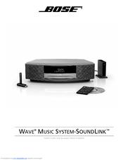 bose wave music system sound link manuals rh manualslib com wave music system iii manual bose wave music system manual download