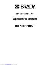 BRADY BP 1244 DRIVERS FOR WINDOWS
