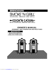 Brinkmann Smoker Cooking Recipe Book Pdf Dandk Organizer