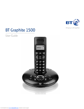 bt graphite 1500 user manual pdf download rh manualslib com BT Phone Service BT Phone Numbers Directory