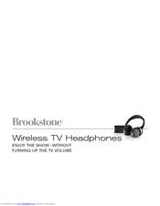 Brookstone Wireless Tv Headphones User Manual Pdf Download