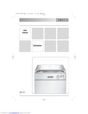 zanussi zdi111 user manual pdf download rh manualslib com zanussi integrated dishwasher user manual zanussi tempoline dishwasher user manual