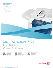 xerox workcentre 7120 user manual pdf download rh manualslib com Xerox WC7120 Xerox WC7120