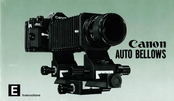 Canon AUTO BELLOWS Instructions Manual