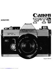 canon ftb manuals rh manualslib com canon ftb ql manual pdf canon ftb manual pdf