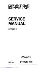 canon np6320 service manual pdf download rh manualslib com