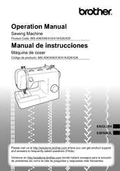 Brother 885-X18 Operation Manual