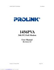 PROLINK 1456PVA MODEM XP TREIBER
