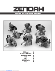 Zenoah G38 Instruction Manual