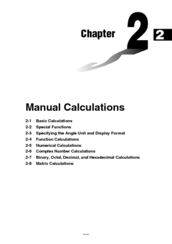 Casio Algebra fx 2.0 Manual