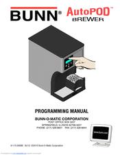 bunn o matic coffee maker manual
