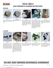 Bunn TB3Q Manuals