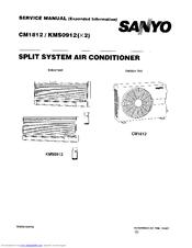 sanyo cm1812 service manual pdf download rh manualslib com HVAC Repair Manuals HVAC OEM HVAC Manual