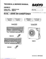 sanyo cm2412 manuals Split Air Conditioner sanyo air conditioner service manual