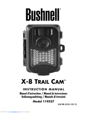 Table of contents page | bushnell x-8 trail cam 119327 user manual.