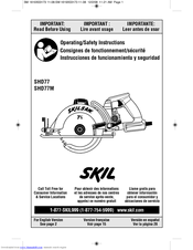 Skil Shd77m Manuals