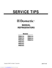 dometic rm2510 manuals rh manualslib com dometic dm2652 repair manual dometic repair manual for rm 2652