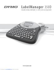 dymo labelmanager 350d user manual pdf download rh manualslib com DYMO Icon DYMO Logo