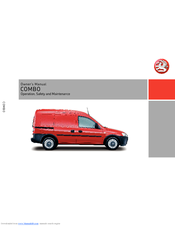 VAUXHALL COMBO OWNER'S MANUAL Pdf Download. on