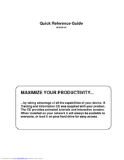 Xerox WORKCENTRE 5030 Quick Reference Manual
