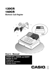 Casio 120CR User Manual