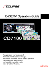Fujitsu E-iSERV CD7100 Operation Operation Manual