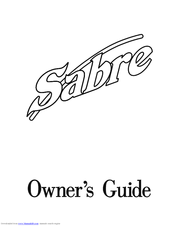 Gerber Sabre Manuals