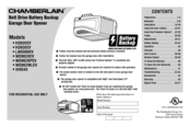 Chamberlain HD930EV Owner's Manual