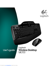 Logitech MK700 - Wireless Desktop Keyboard User Manual