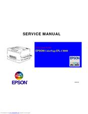 epson colorpage epl c8000 color laser printer service repair manual