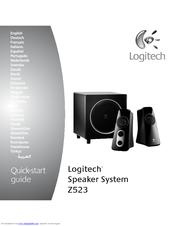 logitech z523 manuals rh manualslib com logitech speaker system z906 manual logitech speaker s315i manual