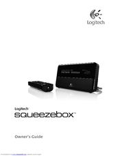 logitech squeezebox owner s manual pdf download rh manualslib com squeezebox duet user guide Squeezebox Instrument