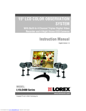 lorex l15ld400 series manuals rh manualslib com Online User Guide User Guide Template