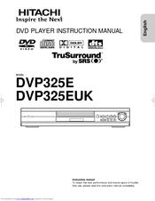 hitachi dvp325e manuals rh manualslib com Hitachi DVD Cam 30X Optical Zoom Hitachi DVD Cam Bx35a