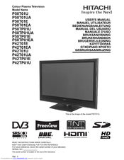 hitachi tv service manual download