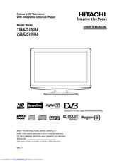 hitachi 19ld5750u manuals rh manualslib com hitachi user manual tv hitachi mge23 user manual