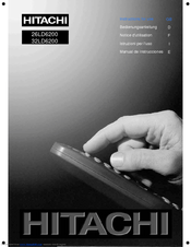 hitachi 32ld6200 manuals rh manualslib com Hitachi Excavator Repair Manual Verizon LG Cell Phone Manual