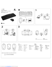 Logitech MK330 Getting Started Manual