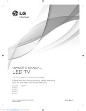 lg smart tv owners manual