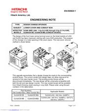 hitachi l200 series manuals rh manualslib com Hitachi Excavators Service Manual Hitachi EX 200 Service Manuals