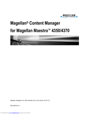 magellan magellan maestro 4370 manuals rh manualslib com