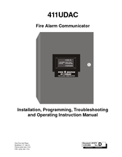 Honeywell FIRE-LITE 411UDAC Installation, Programming, Troubleshooting And Operating Instruction Manual
