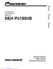 pioneer deh p4100 manuals rh manualslib com pioneer deh-p4100ub wiring diagram pioneer deh-p4100ub wiring diagram