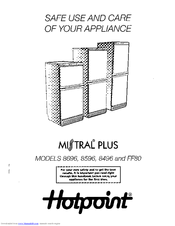 Hotpoint    MISTRAL    PLUS 8596 Manuals